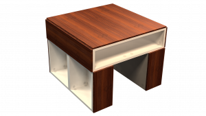 Coffee Table Medium 02D