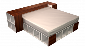 King Bed 05A3