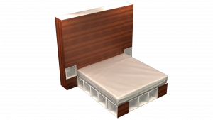 King Bed 13D