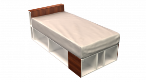 Twin Bed 02A