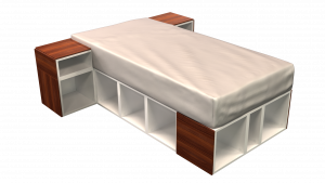 Twin Bed 02B