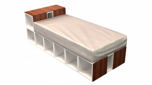 Twin Bed 02D1