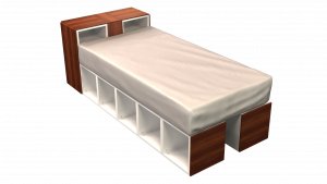 Twin Bed 02D2