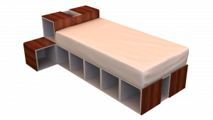 Twin Bed 02F