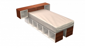Twin Bed 02H