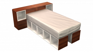 Twin Bed 02I2