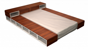 Twin Bed 04A