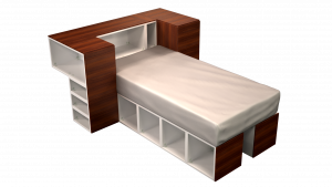 Twin Bed 05A1