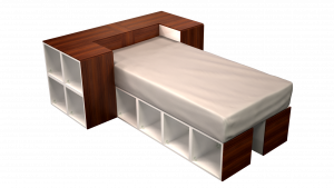 Twin Bed 05A3