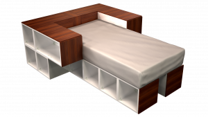 Twin Bed 05B