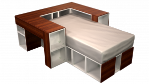 Twin Bed 05C