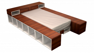 Twin Bed 07A