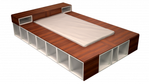 Twin Bed 07B