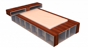 Twin Bed 07C