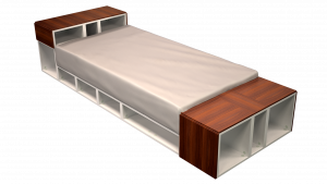 Twin Bed 08B