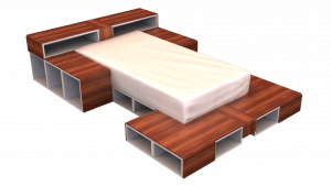 Twin Bed 08C