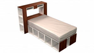 Twin Bed 10B