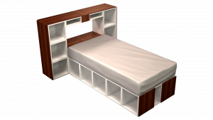 Twin Bed 10C