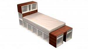 Twin Bed 11A