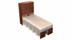 Twin Bed 12B