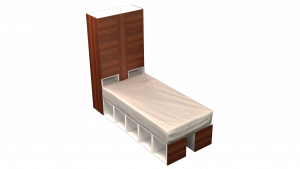Twin Bed 12C