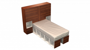 Twin Bed 13B