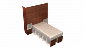 Twin Bed 13C